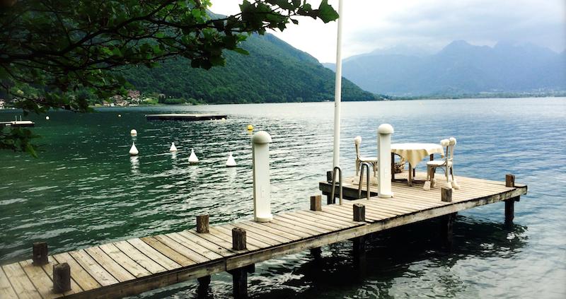 petit paradis annecy restaurant pieds dans leau lac 2